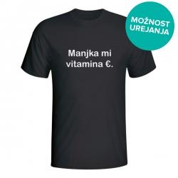 Moška majica Manjka mi vitamina €