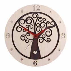 Stenska ura Hrastnik, rjava