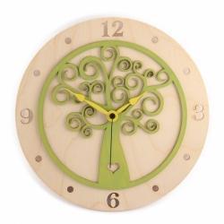 Stenska ura Hrastnik, zelena