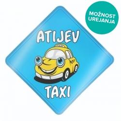 Atijev taxi nalepka za avto