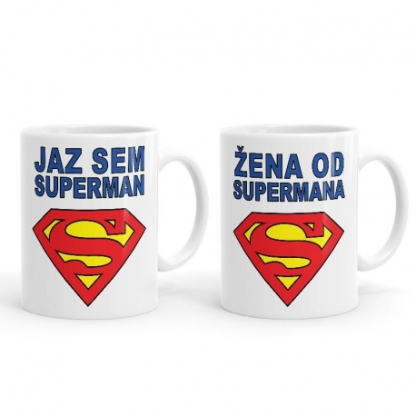 Jaz sem superman in Jaz sem od supermana žena, 2 skodelici
