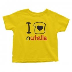 Otroška majica I love nutella