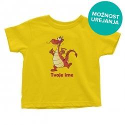 Otroška majica Veseli zmaj