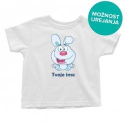 Otroška majica Zajček fantki