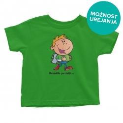 Otroška majica Učenec