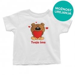 Otroška majica Medvedek