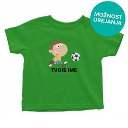 Otroška majica Nogometaš