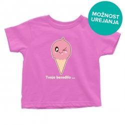 Otroška majica Sladoled