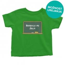 Otroška majica Šolska tabla