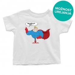Otroška majica Junak
