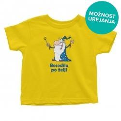 Otroška majica Čarovnik