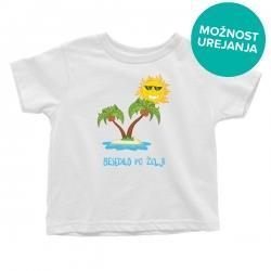 Otroška majica Počitnice