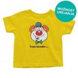Otroška majica Klovn