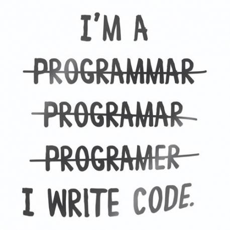 Nalepka za avto I write code