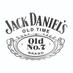 Nalepka za avto Jack Daniel's