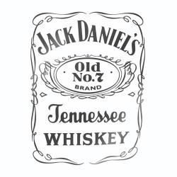 Avto nalepka Jack Daniel's