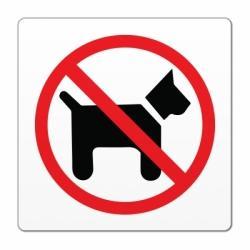 Pasja tablica ker sem tvoj počisti za menoj