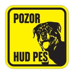 Pasja tablica Rottweiler