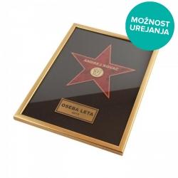Plaketa Hollywoodska Zvezda