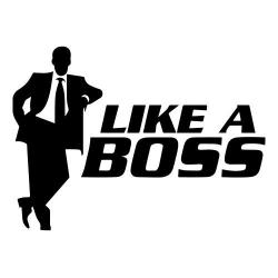 Like a boss nalepka za avto