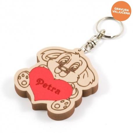 Kužek obesek za ključe