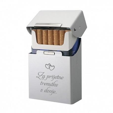 Aluminijasta cigaretnica z lastno gravuro