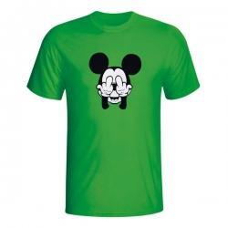 Moška majica Mickey Mouse Double Fuck You