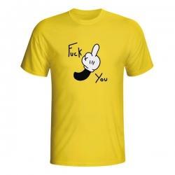 Moška majica Fuck You Mickey