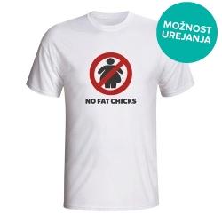 Moška majica No Fat Chicks