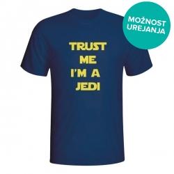 Moška majica Trust me I'm a Jedi