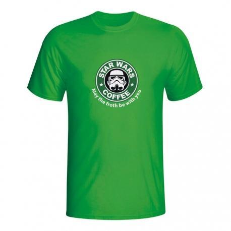 Moška majica Star Wars Coffee