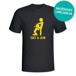 Moška majica Get a Job