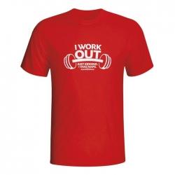 Moška majica I work out