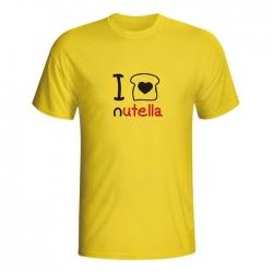 Moška majica I love Nutela
