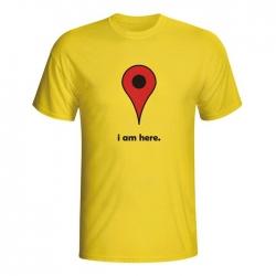 Moška majica I am here