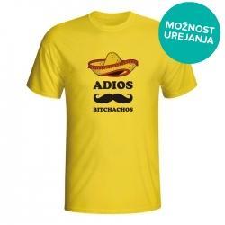 Moška majica Adios Bitchachos