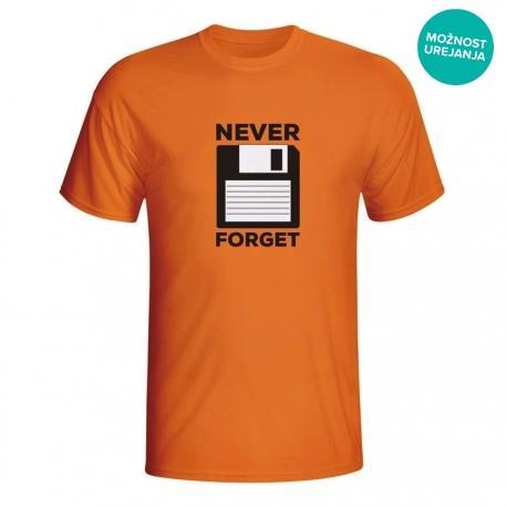 Moška majica Never Forget