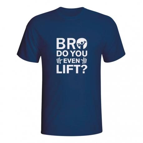 Moška majica Bro do you even lift?