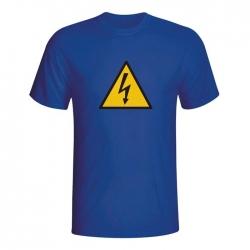 Moška majica Pozor elektrika