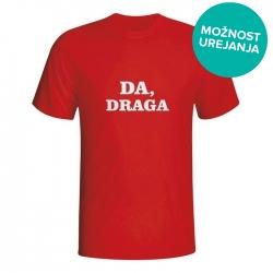 Moška majica Da draga