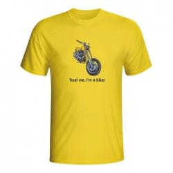 Moška majica Trust me, I'm a biker