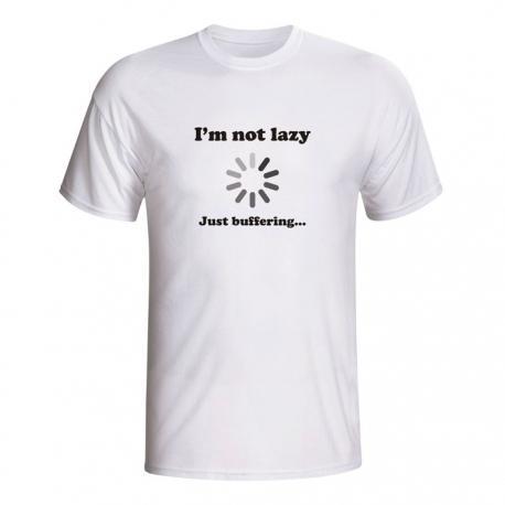 Moška majica I'm not lazy