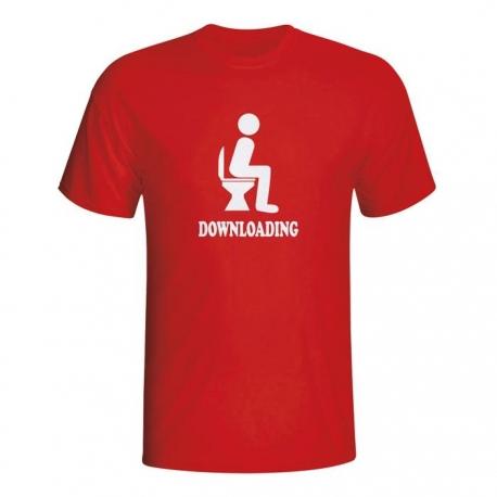 Moška majica Downloading