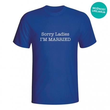 Moška majica Sorry Ladies I'm married