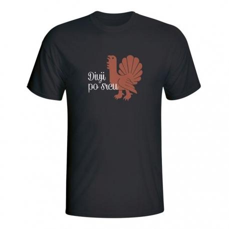 Moška majica Divji po srcu