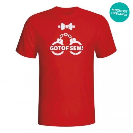 Moška majica Gotof sem