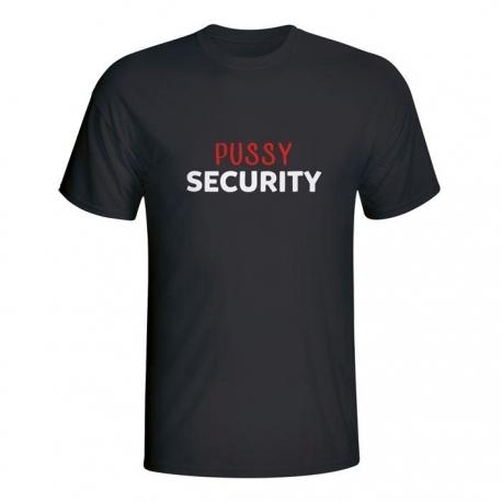 Moška majica Pussy security