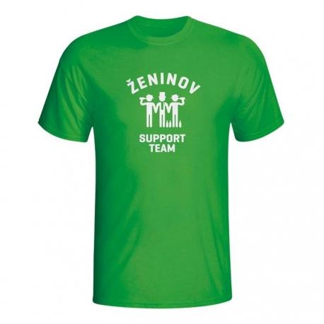 Moška majica Ženinov support team