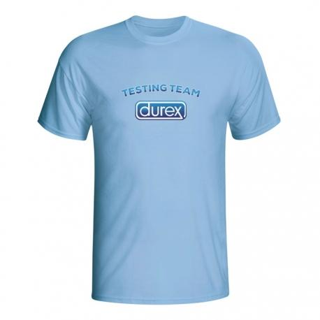 Moška majica Durex testing team