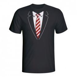 Moška majica Tuxedo kravata